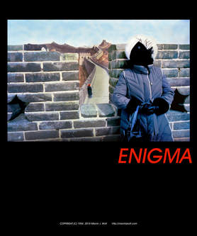 The Enigma Poster, Photo and Poster by Marvin J. Wolf